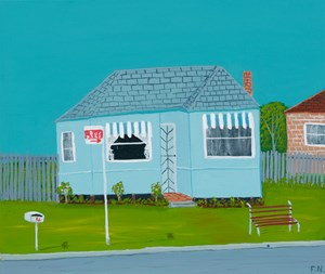 Point Street House by Frank Nowlan contemporary artwork