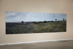 (September 1) 1983 Awatoto Beach, gun emplacement near the mouth of Tutaekuri River 2010 by Ann Shelton contemporary artwork