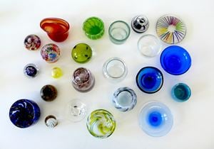 Glass objects by Ludwig Gosewitz contemporary artwork