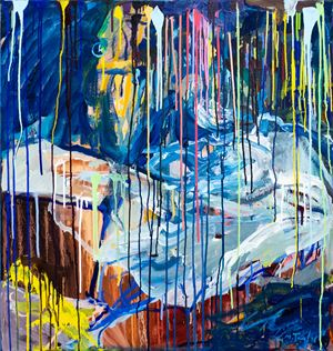 In Hospital by Michael Taylor contemporary artwork