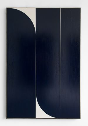 Dark Blue #2 by Johnny Abrahams contemporary artwork