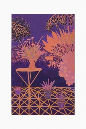 night bright flashing by John McAllister contemporary artwork