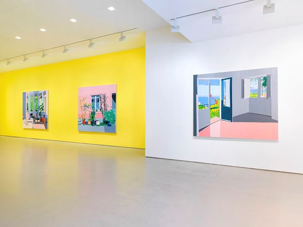 Exhibition view: Guy Yanai,Miles McEnery Gallery, 520 West 21st Street, New York (5 September–5 October 2019). Courtesy Miles McEnery Gallery.