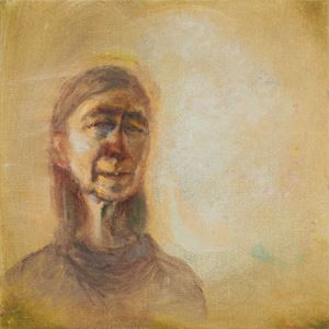 Self-Portrait in Sunlight by Celia Paul contemporary artwork