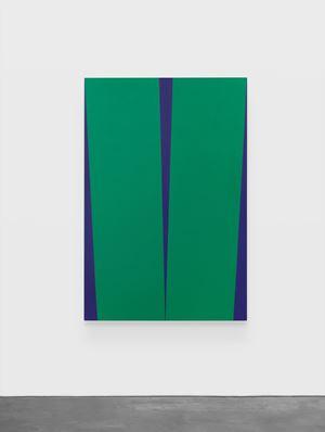 Verde De Noche by Carmen Herrera contemporary artwork