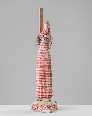 Joan of Arc by Linda Marrinon contemporary artwork sculpture