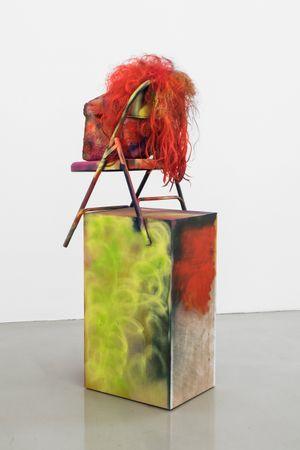 Sculpture in a Corner by Rachel Harrison contemporary artwork