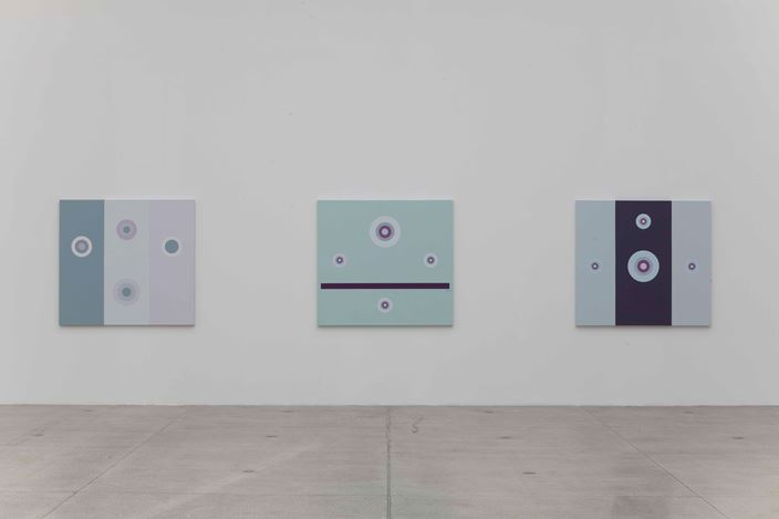 Exhibition view: Tess Jaray,Return to Vienna, Vienna Secession (19 February–11 April 2021). Courtesy Secession.