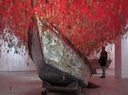 Chiharu Shiota weaves an immersive labyrinth of keys and yarn