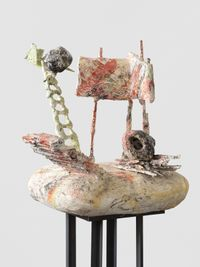 untitled: badplace; 2020 lockdown 4 by Phyllida Barlow contemporary artwork sculpture