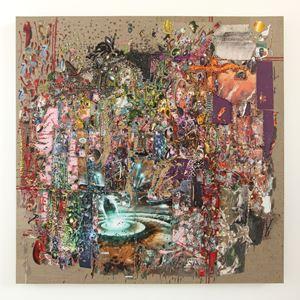 Endgame by Elliott Hundley contemporary artwork