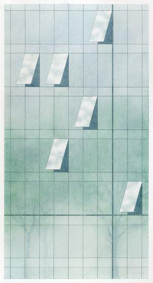 Mirror by Carmen Ng contemporary artwork