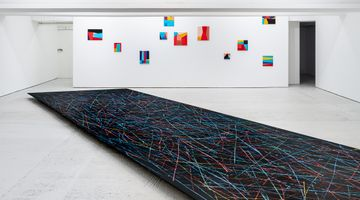 Contemporary art exhibition, Alice Anderson, Hyperlinks at KÖNIG GALERIE, London