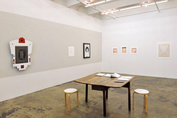 Exhibition view: Anne Minich,Her Bone,Thomas Erben Gallery, New York (22 May–26 June 2021). Courtesy Thomas Erben Gallery.