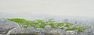 Study of Green-Seoul-Vacant Lot-Yongsan Garrison by Honggoo Kang contemporary artwork