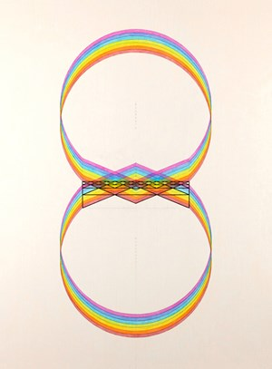 Circle Vibration The Little Brackets by Inga Svala Thórsdóttir & Wu Shanzhuan contemporary artwork