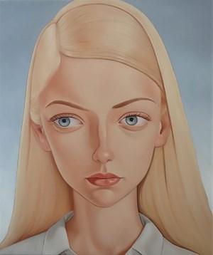 Lynda Jones, 1979 by Peter Stichbury contemporary artwork