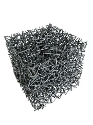 Standard Space - Cube by Li Hongbo contemporary artwork sculpture