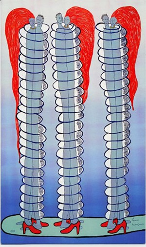 Couples by Louise Bourgeois contemporary artwork