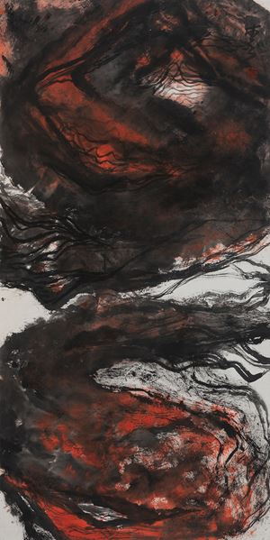 Thinking of My Homeland 思我彊土 by Shen Aiqi contemporary artwork