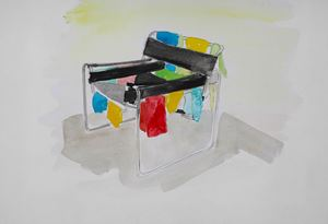 Dryer by Karen Densham contemporary artwork