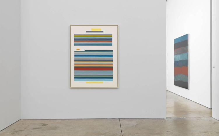Exhibition view: Group Exhibition, The Horizontal, Cheim & Read, New York (6 July–31 August 2017). Courtesy Cheim & Read.