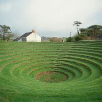 Preaching Pit, Gwennap, Cornwall, UK by Caroline McQuarrie contemporary artwork print