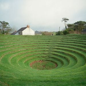 Preaching Pit, Gwennap, Cornwall, UK by Caroline McQuarrie contemporary artwork