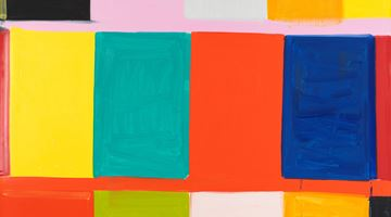 Contemporary art exhibition, Stanley Whitney, Exhibition preview: Bertacca paintings at Gagosian, Rome