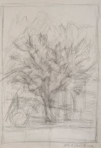 Arbre by Alberto Giacometti contemporary artwork painting, works on paper, drawing
