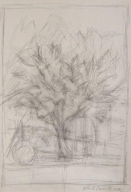 Arbre by Alberto Giacometti contemporary artwork