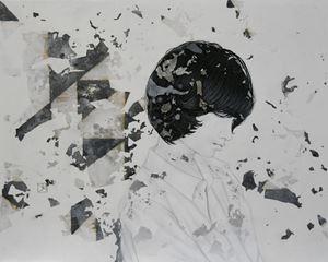 Erosion by Yu Kawashima contemporary artwork