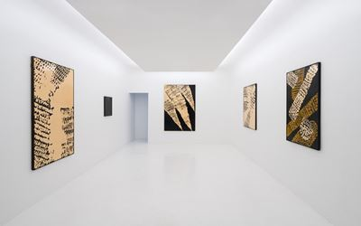 Exhibition view: Masatoshi Masanobu, Axel Vervoordt Gallery, Hong Kong (15 November 2017–10 February 2018). Courtesy the Artist and Axel Vervoordt Gallery, Hong Kong.