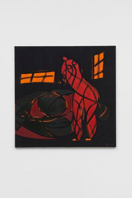 Silent Strength no 4 by Everlyn Nicodemus contemporary artwork