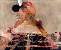 Figura con punto negro by Enrique Brinkmann contemporary artwork painting