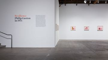 Contemporary art exhibition, Philip Guston, Resilience: Philip Guston in 1971 at Hauser & Wirth, Los Angeles