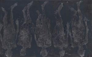 5 mal endwärts by Georg Baselitz contemporary artwork