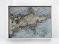 Untitled (Aubade - Light Grey Leather) by Lee Bul contemporary artwork mixed media