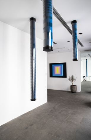 Exhibition view: Nicolas Panayotou, Let none but geometers enter here, A2Z Art Gallery, Paris (11 April–11 May, 2019). Courtesy A2Z Art Gallery.