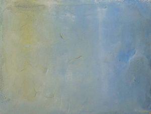 Sitting with a sky 1 by Chafa Ghaddar contemporary artwork