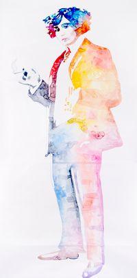 Colette by Ulla Von Brandenburg contemporary artwork works on paper