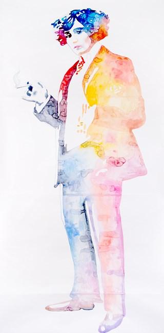 Colette by Ulla Von Brandenburg contemporary artwork