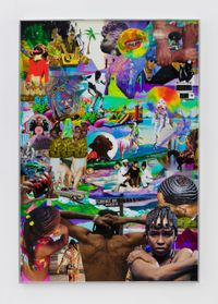 ma foreva thang by Lauren Halsey contemporary artwork mixed media