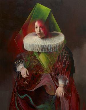 Rembrandt by Wolfe Von Lenkiewicz contemporary artwork