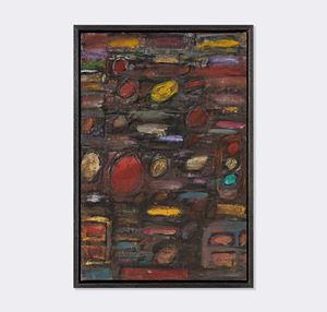 Untitled (lights in traffic II) by David Koloane contemporary artwork