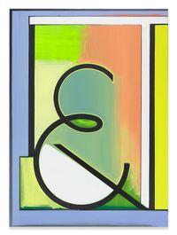 Fama by Thomas Scheibitz contemporary artwork mixed media