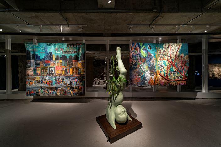 Exhibition view: Garden of Six Seasons, Para Site, Hong Kong (16 May–15 November 2020). Courtesy Para Site, Hong Kong, 2020. Photo by Samson Cheung Choi Sang.