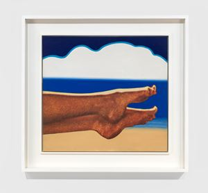 Little Seascape #3 by Tom Wesselmann contemporary artwork