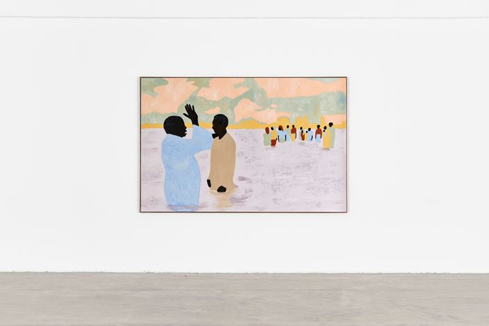 Exhibition view: Cassi Namoda, To Live Long is To See Much, Goodman Gallery, Johannesburg (21 November 2020–16 January 2021). Courtesy Goodman Gallery.