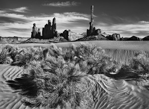 Monument Valley Navajo Tribal Park, Utah and Arizona, USA by Sebastião Salgado contemporary artwork